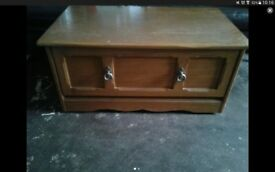 Pine TV Unit, ideal for upcycling or first home