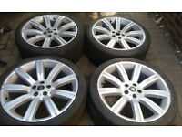 22 GENUINE STORMER ALLOY WHEELS 5 x 120 SPORT VOGUE DISCOVERY VW T5 T6 TRANSPORTER