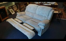 Two seater recliner sofa,Torquay Devon