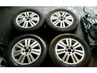 "Ford galaxy 16"" alloy wheels and brand new tyres (Smax Cmax mondeo cougar)"