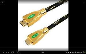 4k 2160P HDMI 2.0 Cable Gold Plated With Ethernet 3D For HDTV 2M Neww 100%