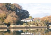 SHORT AUTUMN/WINTER BREAKS FOR 6 BY THE RIVER FAL, CORNWALL - £450