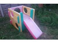 Little tikes toddler slide climbing cube