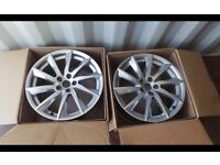 two used jaguar alloys,£40 the pair