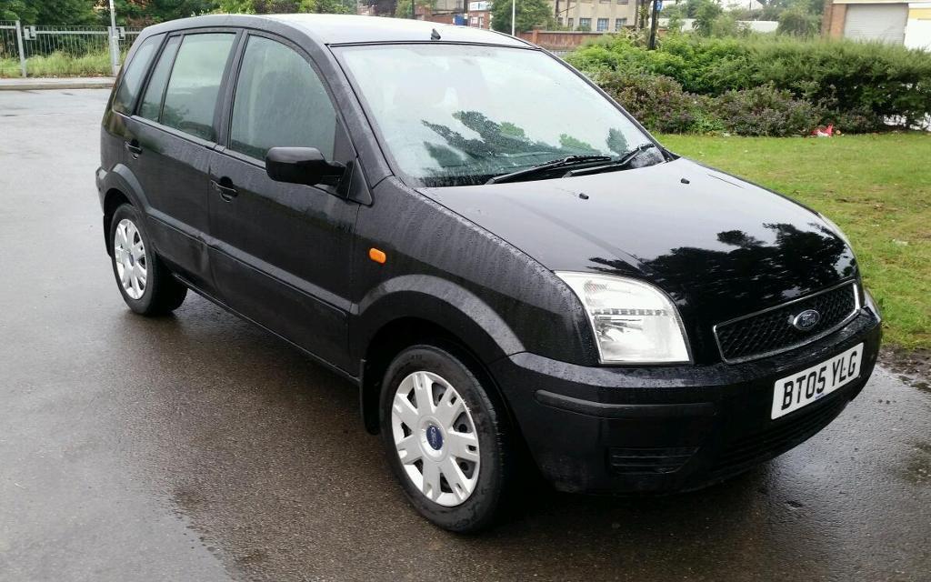 2005 ford fusion 2 1 4 petrol manual black 5 door 10. Black Bedroom Furniture Sets. Home Design Ideas