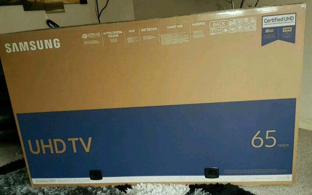 Samsung 65 Quot Uhd 4k Full Hd Smart Led Hdr Tv Brand New In