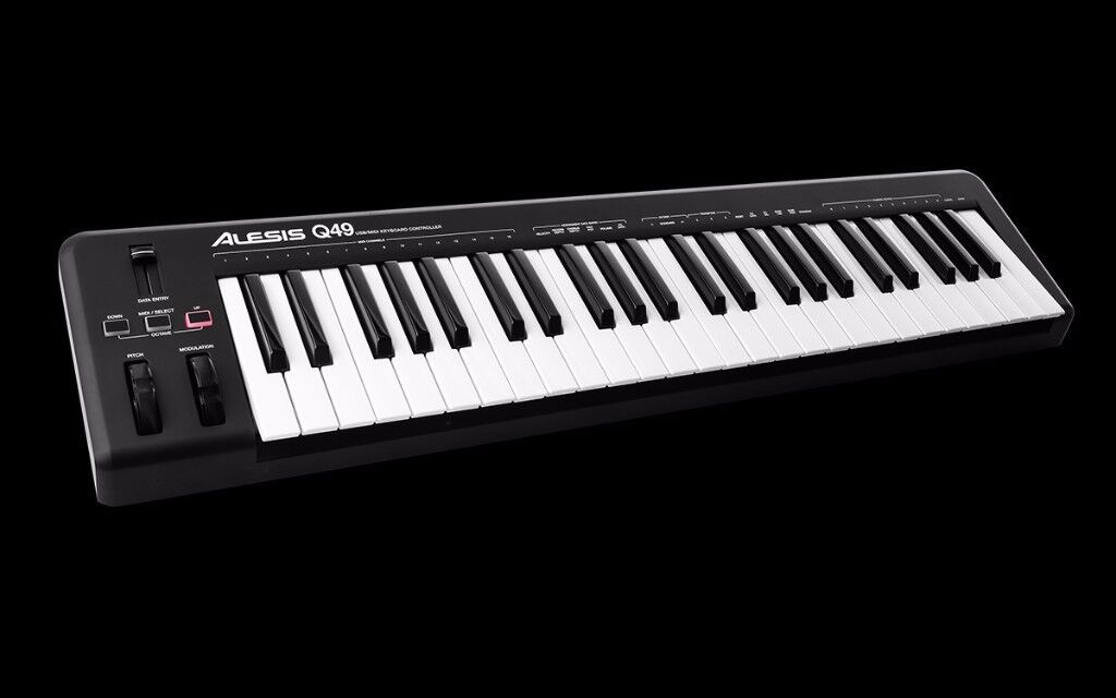 Alesis Q49 MIDI Keyboard [With box and packaging]