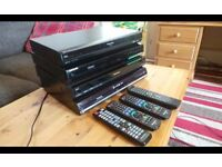4x dvd recorders with build HDD in,Possible local delivery