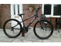"X RATED MOUNTAIN BIKE, 26"" Wheels,front suspension,"