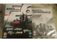 DVD fast & furious 1-7 box sets