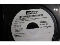 Western Digital Caviar Wd5000ks 500gb Sata 3.5 Hdd 7200rpm 16mb Cache
