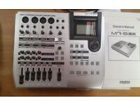 Fostex MR8 HD digital recorder with 40gb hard drive.