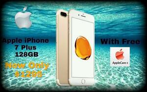 BRAND NEW OR GENTLY USED APPLE IPHONE 7, IPHONE 8 OR 8 PLUS..... FACTORY UNLOCKED WITH APPLE WARRANTY