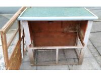 Large Wooden Rabbit Hutch - Project.