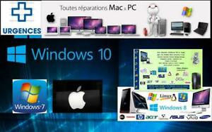 ***RIVE- SUD   Service   APPLE  WINDOW   Réparation Professionnel Ordinateurs  a Domicilie  514-522 8886