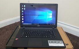 """Acer Aspire ES1-520 15.6"""" Laptop ,AMD A4 Quad Core 4GB 1000GB HDD Windows 10"""