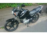 YAMAHA YBR 125CC 60 Plate In very Clean Condition