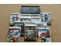 Ps3 with 12 games cod .grand theft etc