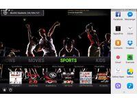 Amazon Fire Stick. Tv. Movies. Sports