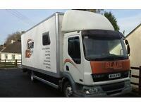 Daf lf45 race lorry / transporter