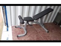 Body Solid Flat/Incline/Decline Weight Bench RRP £299.99,Excellent Condition