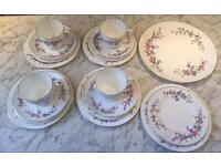 Vintage Wedgwood Devon Sprays Tea Set