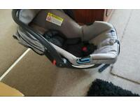 baby car seat. mamas and papas vibrating musical chair. cot bumper etc!
