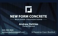 Hardworking Concrete Guy with 15+ years experience!