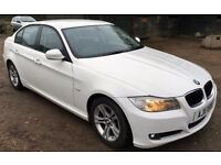 White BMW 3 Series 316 Diesel 316D 2011 £30 Tax 69mpg