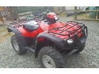 Honda trx 500 foreman farm quad 2x4 4x4