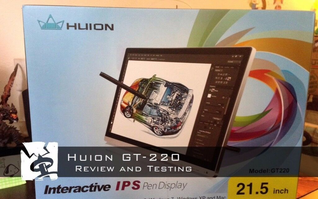 Huion GT220 Graphic Tablet