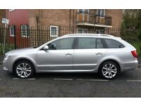 2010 SKODA SUPERB ESTATE 2.0 TDI CR 140 BHP SE 142000 MILES 9 MONTHS MOT IN SHOWROOM CONDITION