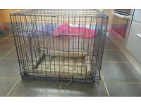 Small pet puppy cage