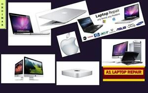 *** Réparations Ordinateur Laptop , Desktop, Ultrabook, Macbook Air Retina , Imac, Mac mini, Systems  Apple & Windows
