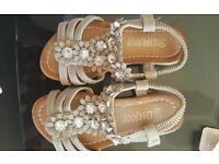 Size 10 girls sandals **new**