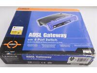 Linksys AG041-UK ADSL Gateway with 4-port Switch