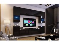 C 27 SKY Furniture Bedroom & Living Room Wall Unit !!! FREE DELIVERY !!! PAY CASH ON DELIVERY!!!!