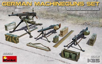 MINIART 35250 - 1/35 WWII GERMAN MACHINEGUNS SET - NEU