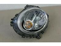 GENUINE 2007 BMW MINI ONE R56 LHF NEARSIDE LEFT FRONT HEADLIGHT GENUINE PART REF: A13