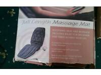 Full length. Massage. Mat