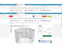 BabyStart Mental and Fabric PlayPen - Like New - £30 in Argos - We have 3 of these