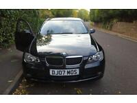 BMW 318i. 2008Reg with 07plate. 2L Petrol, Mile 99,000. Manual, MOT Till May 2017. Recently service.