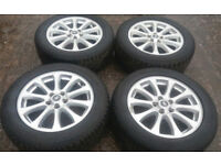 **SUMMER SALE** GENUINE 19 RANGEROVER DISCOVERY 3 ALLOYS IMMACULATE VW T5 T6 TRANSPORTER