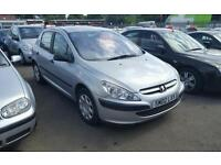 2002 peugeot 307 1.4 cheap ro clear
