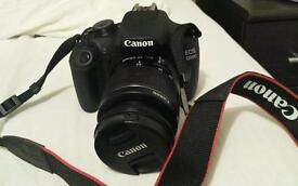 DSLR Canon 1200D with Lens