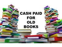 Books Wanted Will Pay & Collect