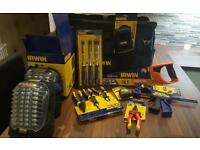 Brand new 22inch Irwin bag including tools. Total value nearly £200