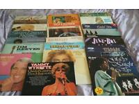 LP RECORDS AND CASE