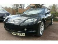 MAZDA RX-8 231 ps ** SAT NAV ** 6 SPEEDS ** SUN ROOF ** PARKING SENSORS **