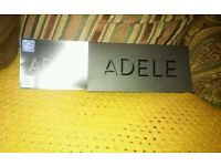 X2 tickets to see adele at wembley stadium